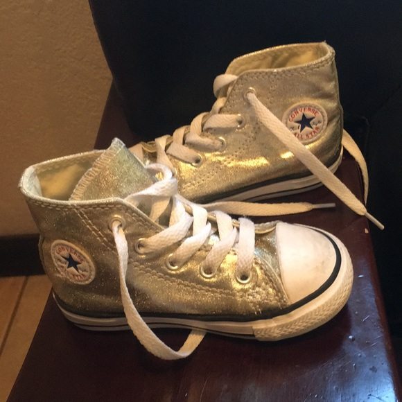 eb540b935c57 Converse Other - Gold toddler converse